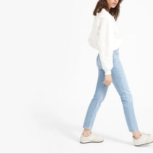 Everlane high waist cheeky ankle jeans